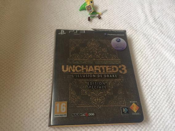 Uncharted 3 L`íllusion De Drake Édition Speciale - Comp.c/3d