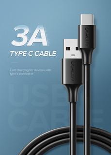 Cable Carga Rápida Datos Celular Tipo C / Ugreen / Xiaomi