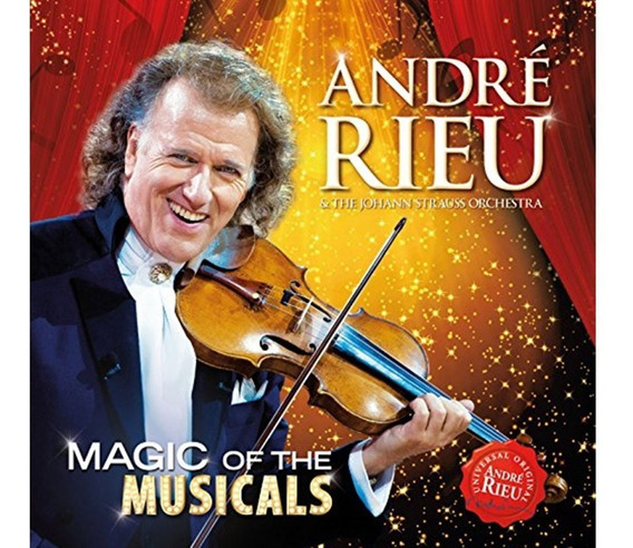 André Rieu Magic Of The Musicals - Blueray