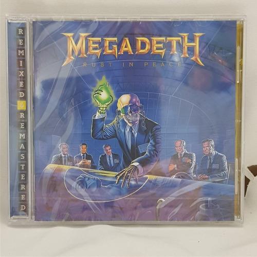 Megadeth Rust In Peace Remixes Remaster Cd Nuevo Musicovinyl