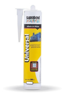 Sellador Silicona Universal Suprabond X 280ml Transparente