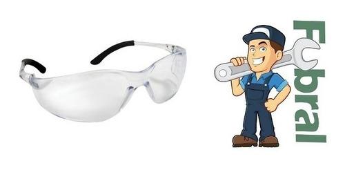 Imagen 1 de 4 de Gafas Lentes De Proteccion De Marco Rigido Claras Fubral