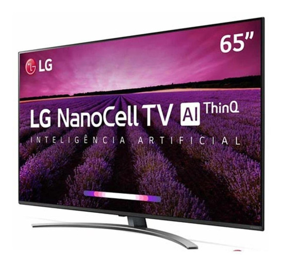 Smart Tv Lg 65 Nano Cell Uhd 4k Smart Magic 65sm8100psa