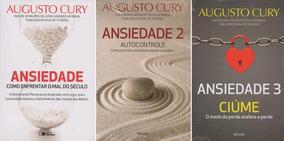 Augusto Cury, Ansiedade Vol. 1,2,3 - Link Na Descrição