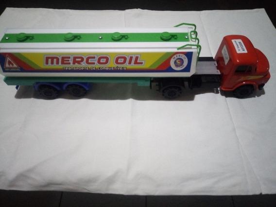 Brinquedo Caminhão Mercedes Bens Carreta Petroleiro