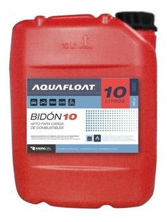 Bidón Combustible 10 Litros Aquafloat, Apilable