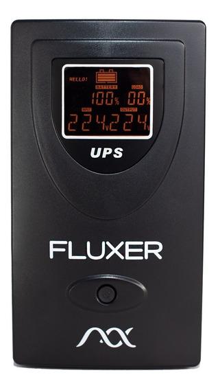 Ups Fluxer 800va / 480w Estabilizador Con Batería Pc Gamer