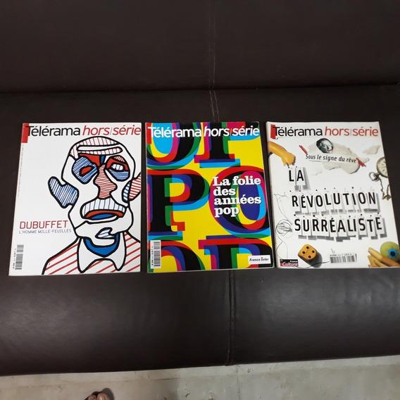 Edições Especiais Revista Telerama Dubuffet, Surrealismo Pop