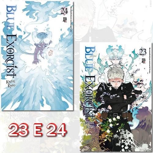 Blue Exorcist 23 E 24! Mangá Jbc! Novo E Lacrado!