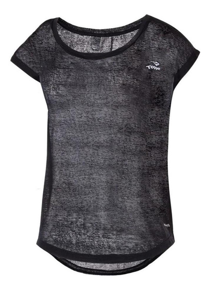 Topper Remera Mujer - Training Light N