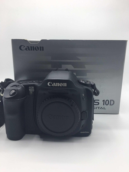Máquina Fotográfica Canon 10 D