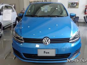 Volkswagen Fox 1.6 Msi 2017 Vw 0km Celeste 5 Puertas