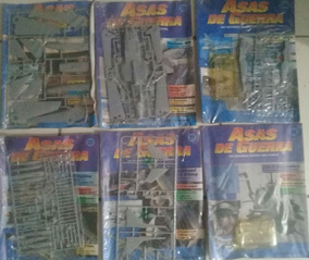 Revistas Asas De Guerra C/ Kits Lacradas (diversos Números)