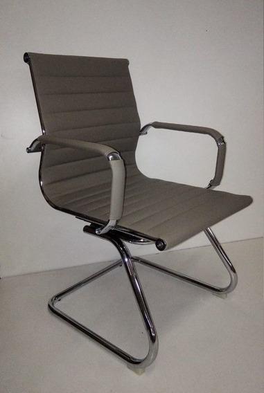 Cadeira Para Escritório Diretor Charles Eames Fixa