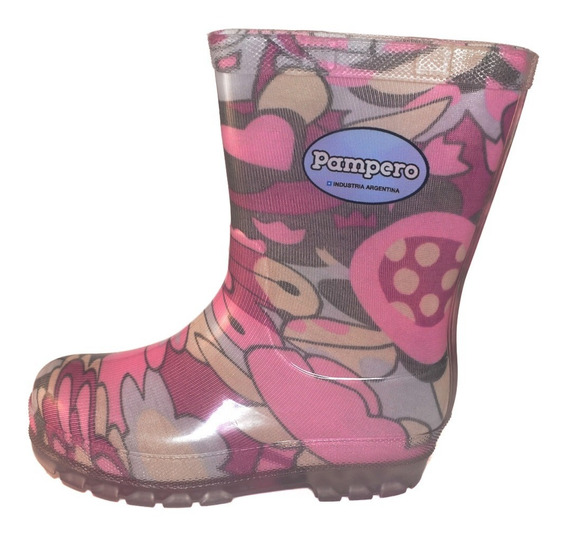 Bota Lluvia Pampero Infantil Multicolor