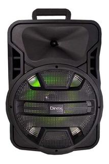Parlante Portatil Bluetooth Potenciado 12 Dinax Dublin