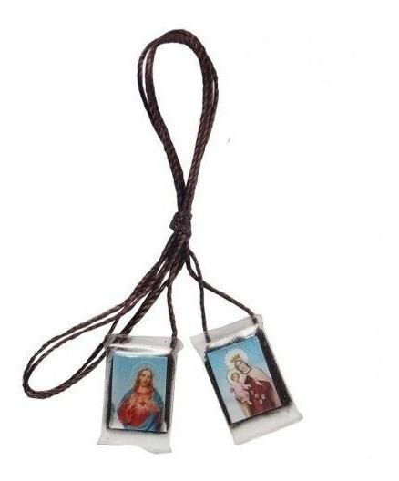 30 Unidades Escapulário Nossa Senhora Do Carmo Acrílico