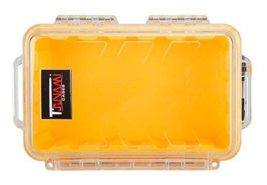 Case Impermeável P/ Celular, Camera, Etc. - Amarelo