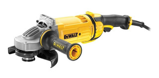 Amoladora angular DeWalt DWE4557 de 60Hz amarilla 220V