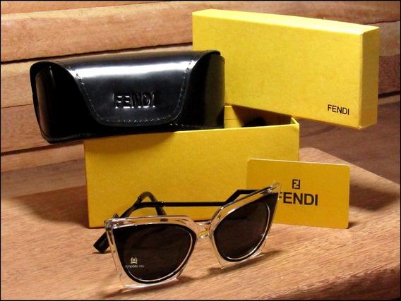 Óculos De Sol Fendi Orchidea Unisexx Já No Brasil °1068°