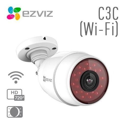 Câmera De Vigilância Ezviz C3c Wifi 1mp 30mt Interna/externa