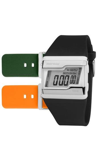 Kit De Relógio Mormaii Unissex Troca Pulseira Fz/t8l