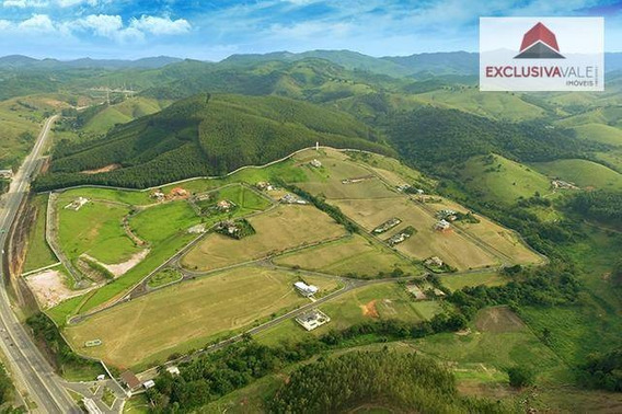 Terreno À Venda, 1000 M² Por R$ 175.000,00 - Village Parahybuna - Paraibuna/sp - Te0116