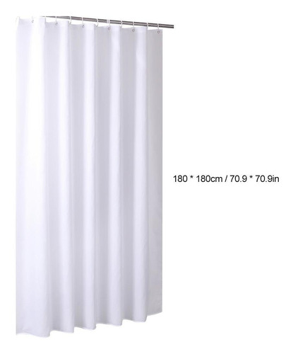 LLKOZZ Cortina de Ducha 300x180cm Cortina de la Ducha Size : 100 * 180cm Impermeable Prevenga el Moho Material m/ás Grueso del Poliester Cortinas de Ducha 100x180cm