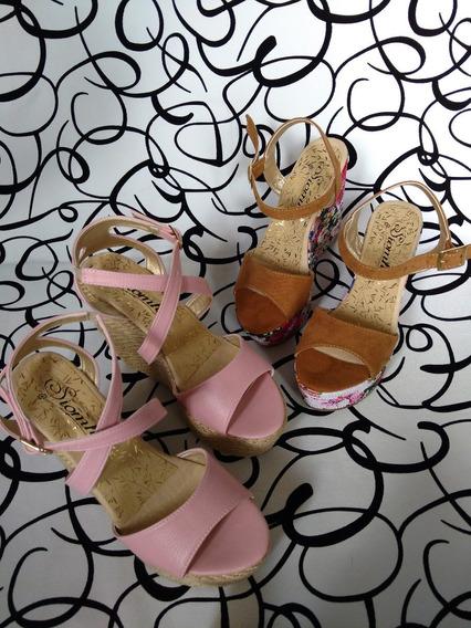 Zapatos Varios Colores Plataformas Altas Moda Envío Gratis