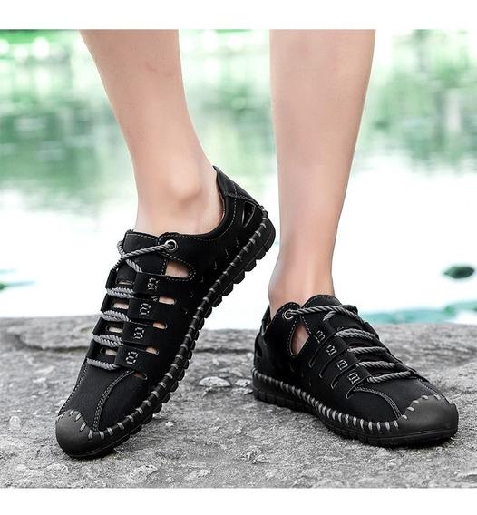 Homens Negócio Casual Sapatos Couro