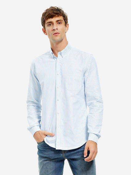 Camisa Vestido Algodão Oxford