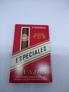 5 Cigarros Habanos El Guajiro. Andorra 1998