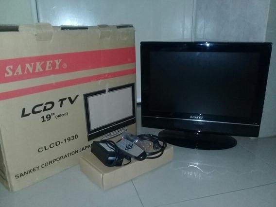 Tv Lcd Marca Sankey 19 C/c Remoto Nuevo