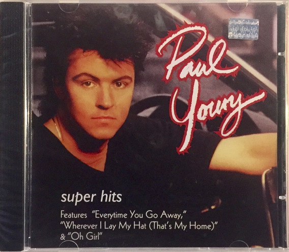 Paul Young - Super Hits - Cd Novo Lacrado
