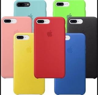 Case Capinha De Silicone Para iPhone 7 Plus/ 8 Plus Original