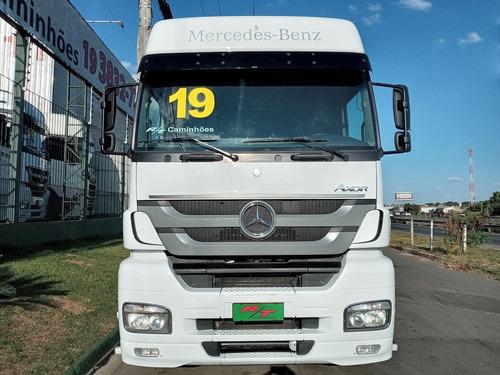 Mb Axor 2041 Ano 2019 Teto Alto 2035 2036 P340 P360 Scania