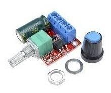Controlador Regulador De Velocidade Luz Pwm Motor Dc 90w 5a