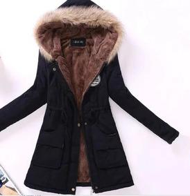 Jaqueta Feminino Para Frio Com Capuz Casaco De Inverno Neve