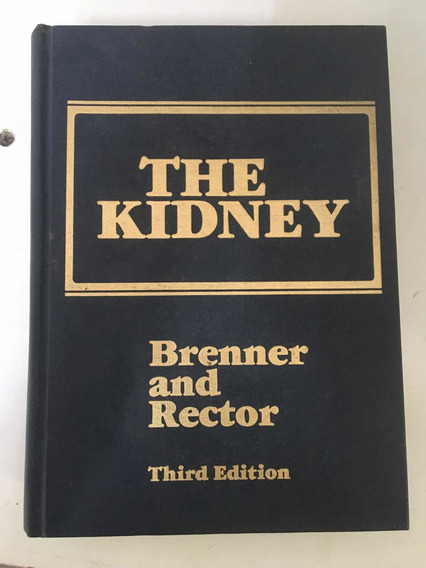 Livro The Kidney Breno And Rector Third Edition Saunders