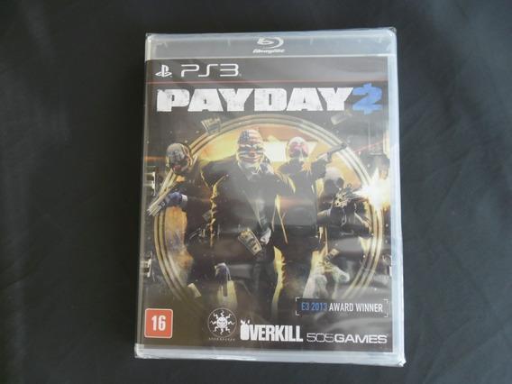Jogo Payday 2 Ps3 Original