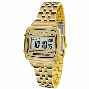 Relógio Feminino Lince Sdph041l Bckx Digital Casual