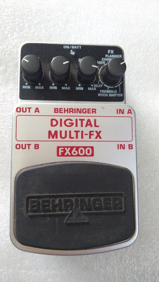 Pedal Behringer Fx600 Digital-multi-fx