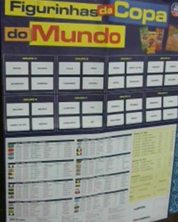 *sll* Álbum Copa Do Mundo 98 São Bráz Não Elma Chips Poster