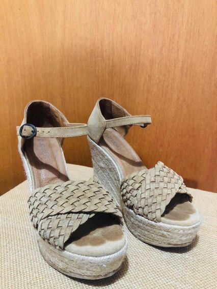 Zapatos Con Plataforma. De Paruolo!! 37