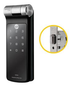 Fechadura Biometrica Digital Ydf 40 Rolete Rl Yale