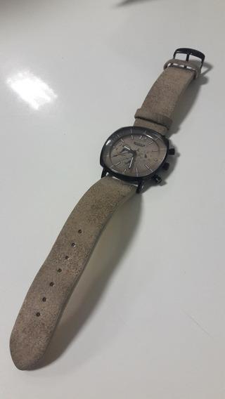 Relógio Julius Couro