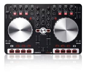 Controlador Dj Reloop Beat Mix Rotulado Con Caja Cd Cables