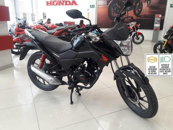 Cb 125 F Honda Negra 2020