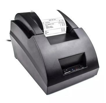 Kit Impressora Térmica + Botoeira 2 Botões Para Painel