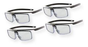 Kit 4 Óculos 3d Passivo Sony 500p Original